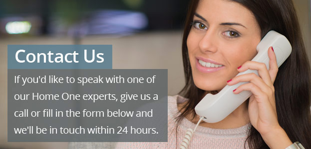 Contact us to speak with a Home One expert